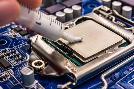 Заміна термопасти в ноутбуці